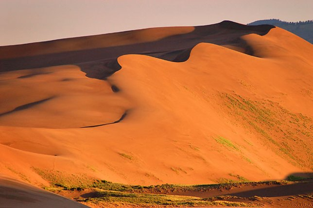 Morning at Great Sand Dunes.