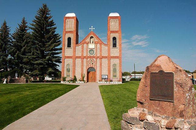 Our Lady of Guadalupe Church, the oldest church in Colorado