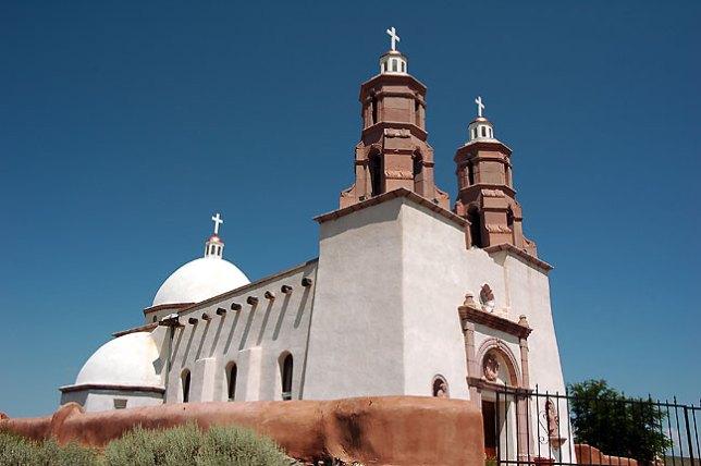 San Luis Mission and Shrine, San Luis, Colorado.
