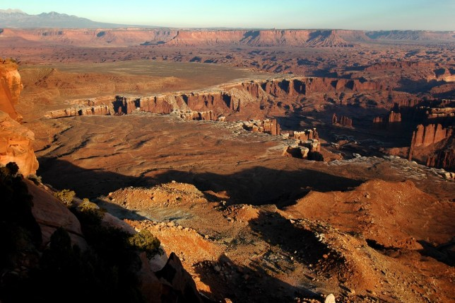 Grand View Point trail, Canyonlands