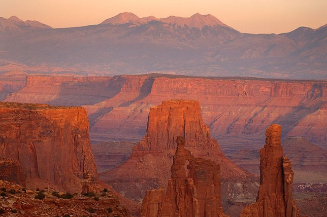Sunset, Canyonlands National Park, Utah