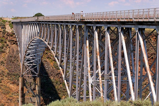 Rio Grande Gorge Bridge northwest of Taos, New Mexico