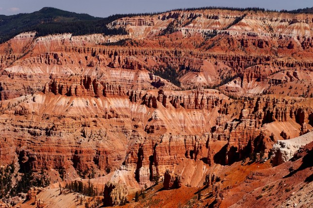 Despite it's epic beauty, Cedar Breaks is surprisingly small, and there isn't all that much to do, since the trails don't lead down into the formations.