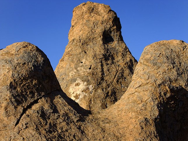 Formation on the south end of City of Rocks.