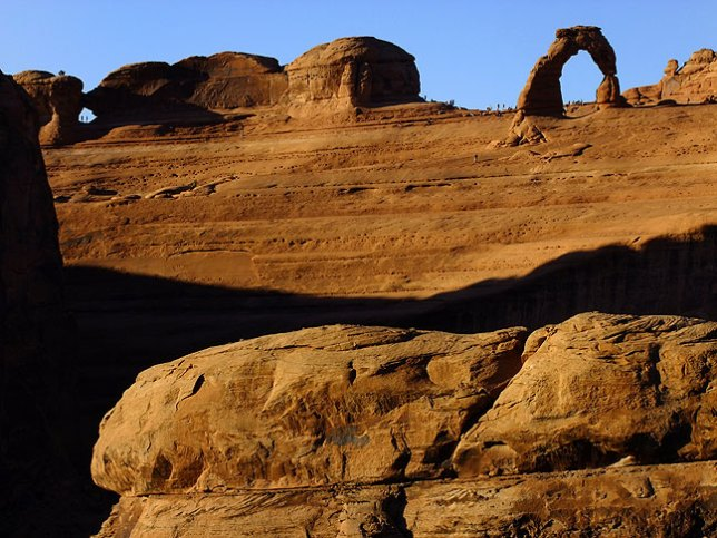 Frame Arch and Delicate Arch are both visible in this image.