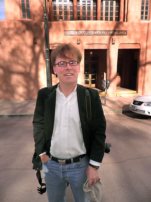 Robert was elated and amazed to wake up in Santa Fe, New Mexico.