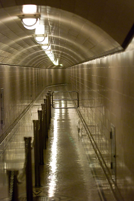 I was impressed by how beautifully appointed and finished this access passage was at Hoover Dam.