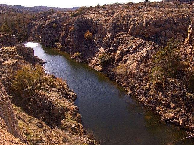Quanah Creek Below Quanah Parker Lake Dam