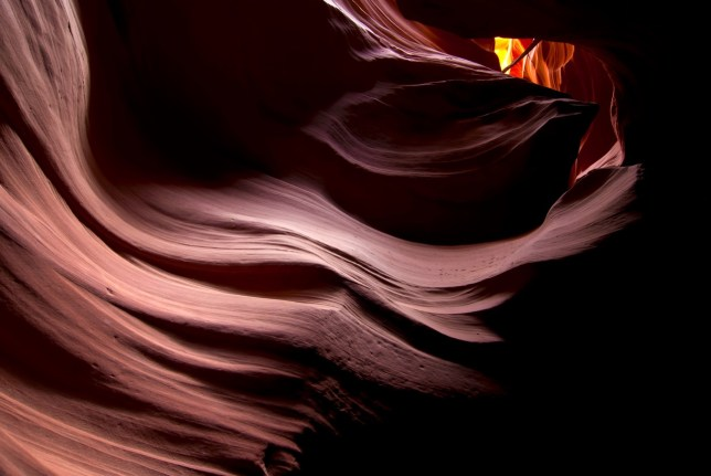 This was one of my stronger images of Antelope Canyon, particularly regarding color.