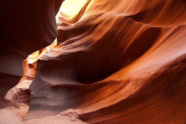 Despite its beauty, Waterholes Canyon remains relatively undiscovered.