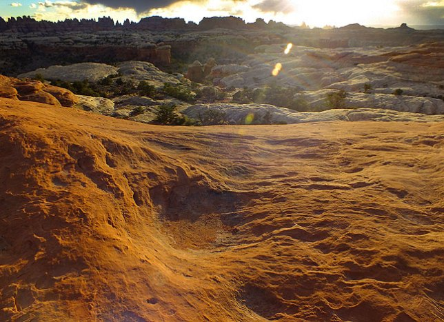 The sunset light at Canyonlands has a certain purity like no other place in the world.