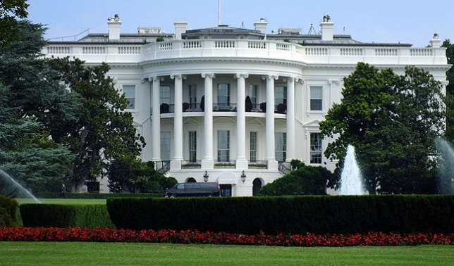 The White House; I made this image so I could say I had a photo of the White House.
