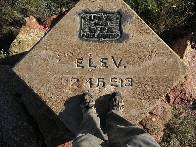 I shot this from the Refuge high point, the elevation marker at Mount Scott.
