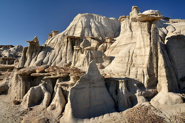 The complexity of the alien landscapes of Bisti never ceases to intrigue me.