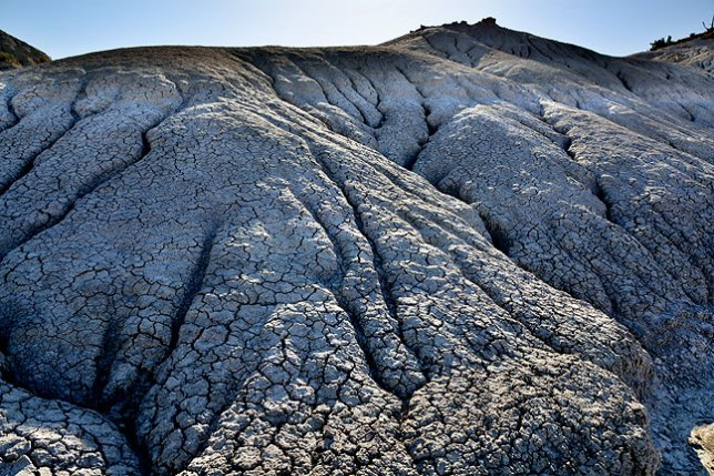 Our hike at the Penistaja Badlands featured a huge amount of variety, as well as high-desert features like this erosion we photographed early in the morning.