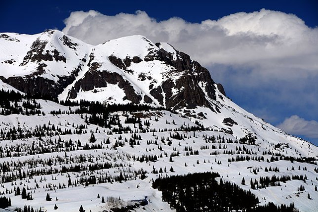 This is another image of the soaring San Juan Mountains I shot as I made my way toward Silverton.