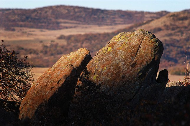 Granite Formations in Waning Light, Elk Mountain Trail