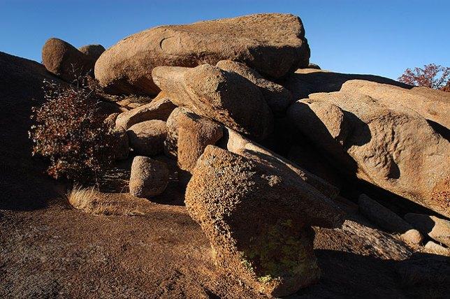 Granite Boulders Near Sitting Rock
