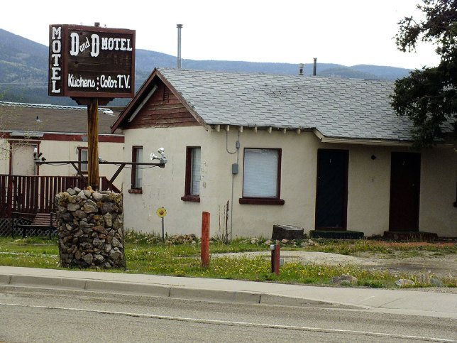 For many years my friends and I stayed at the D&D Café and Motel in Eagle Nest, New Mexico when we went on ski trips to nearby Angel Fire. It was cheap and clean, and they served a hearty breakfast.