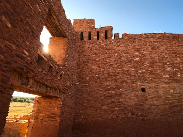 The Quarai Mission is part of the Salinas Pueblo Missions National Monument.