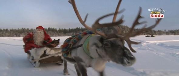 The Magic of Santa extraordinary adventure to the North Pole, Santa Claus' home ground.