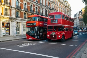london, bus, double decker