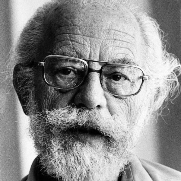 Harold Rossman elderly man with beard and glasses