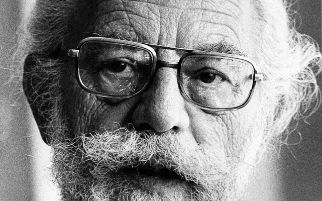 Harold Rossman elderly man with beard and glasses