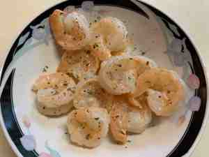 shrimp cooked in butter