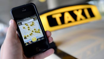 Using taxi hailing apps at Dublin Airport • Richard