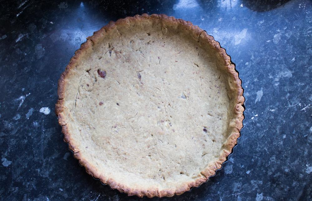 vegan chocolate tart base
