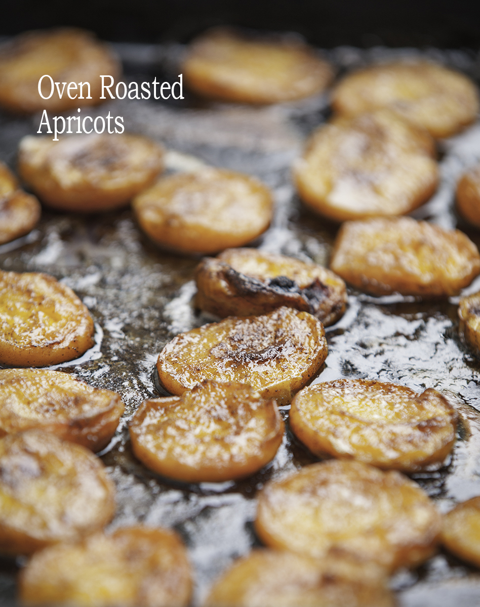 Oven Roasted Apricots