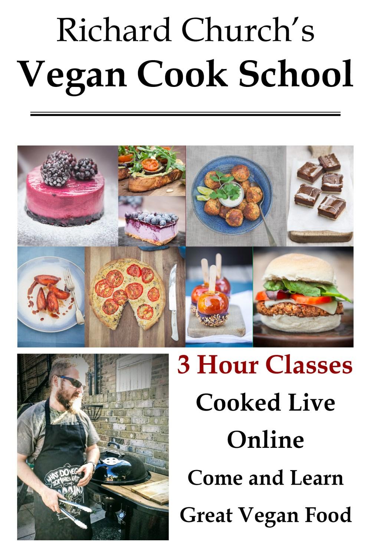 Vegan Cook School Ad