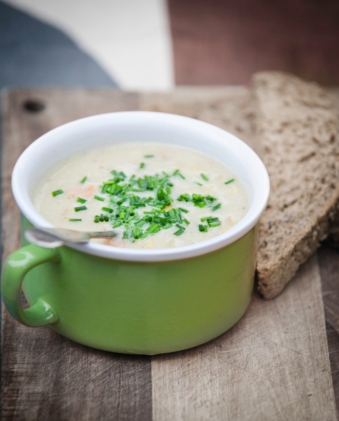 vegan chicken and vegetable soup