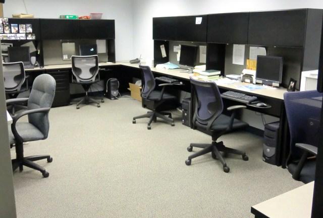 apl grad student office area