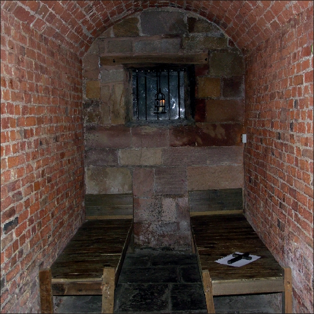 Cell at Derby Jail Gaol