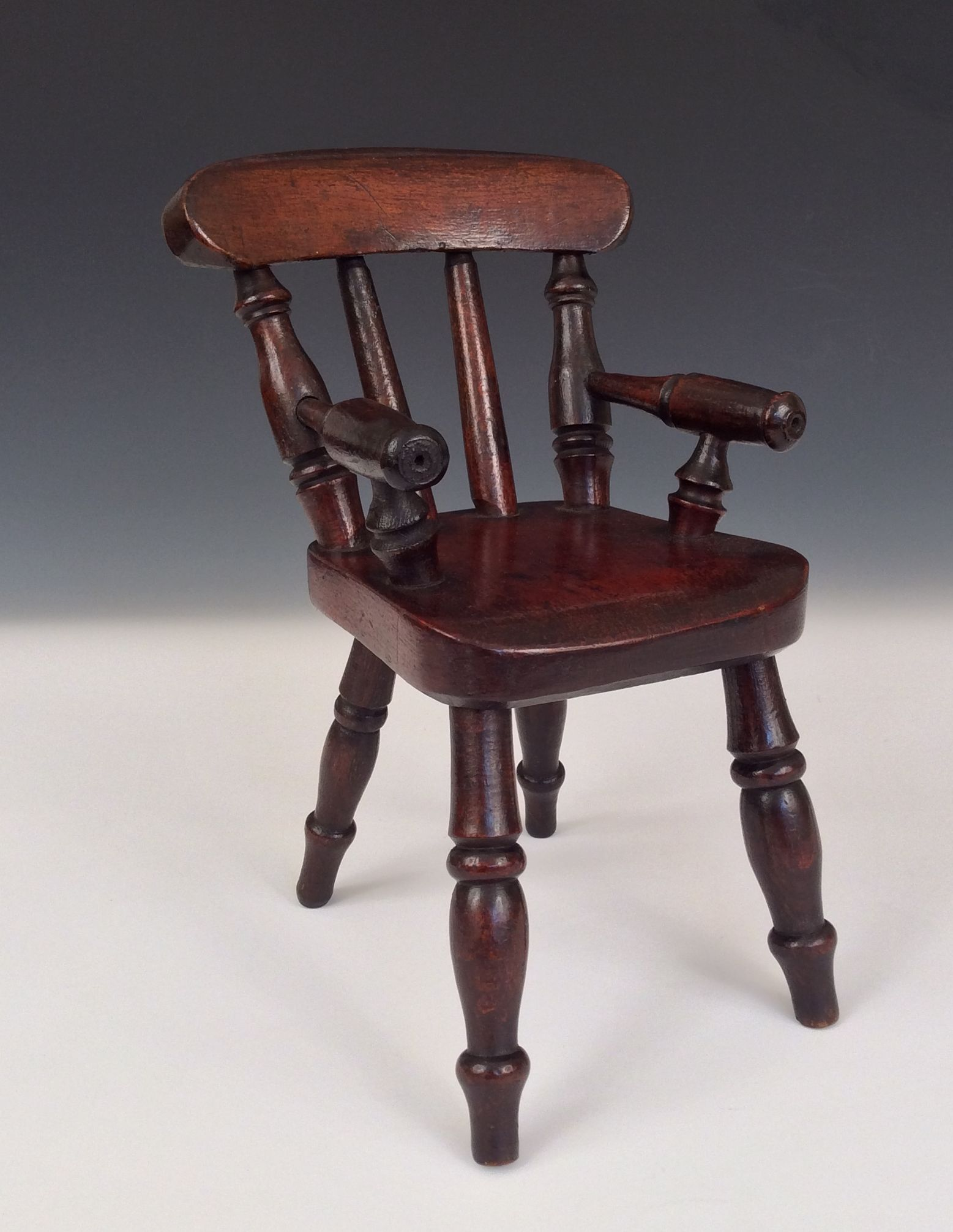 Miniature Chairs Antique Miniature Windsor Chair