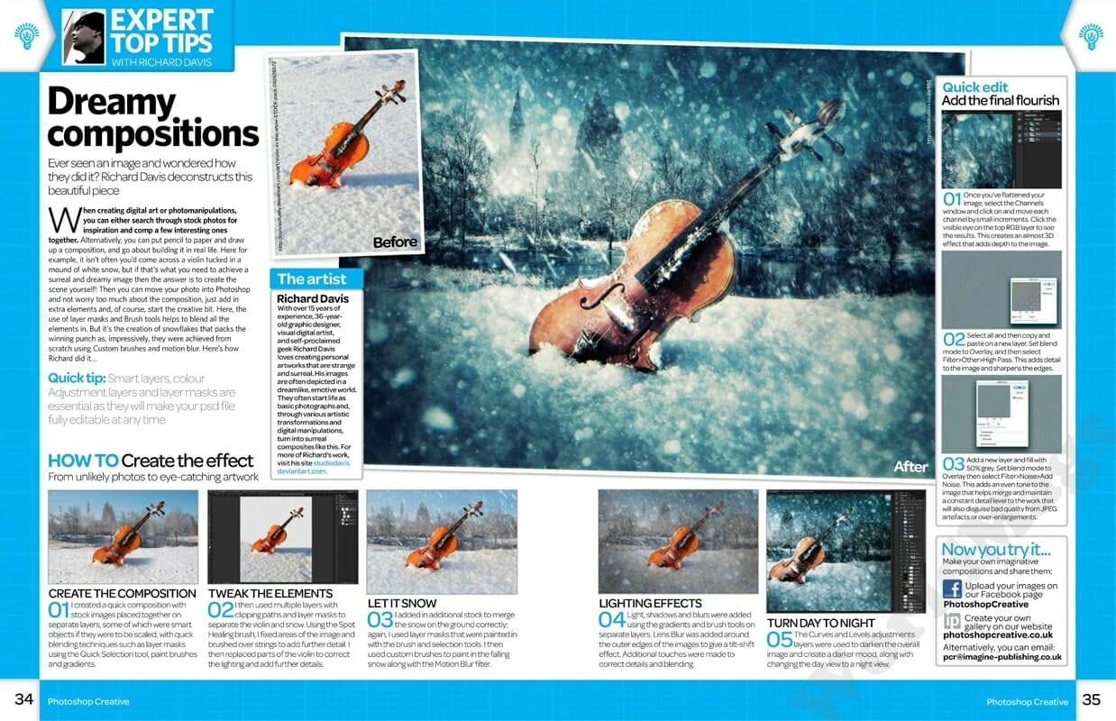 Photoshop Creative Issue 94 Feature - Richard George Davis