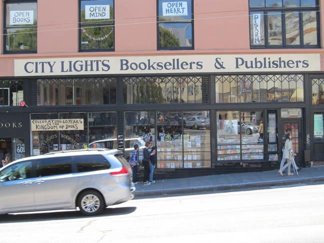 City Lights Bookstore x