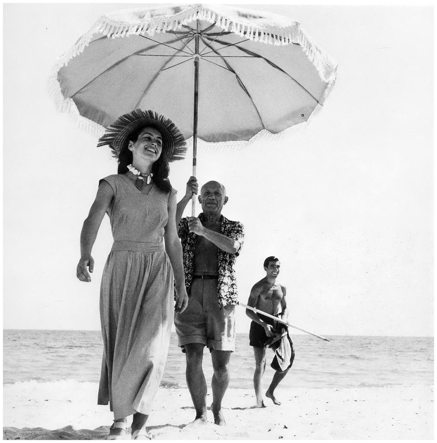 pablo-picasso-francoise-gilot-1951-photo-robert-capa