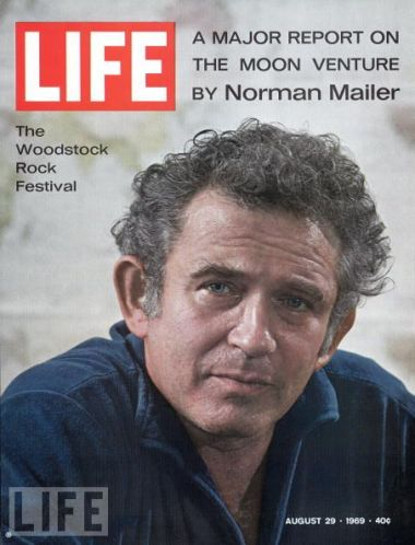 Norman Mailer's moon reportage featured