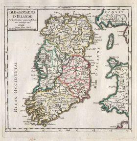 1748_Vaugondy_Map_of_Ireland_-_Geographicus_-_Ireland-vaugondy-1749