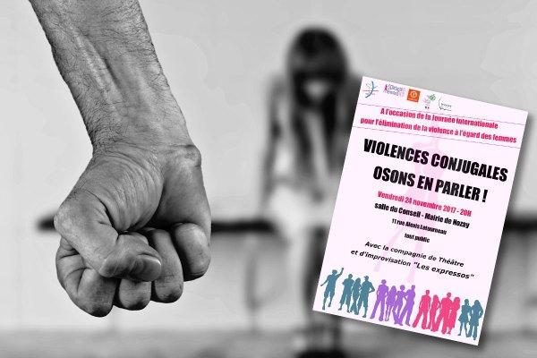 Réunion publique sur la violence conjugale