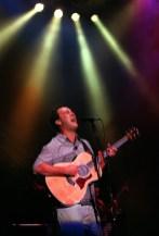 Dave Matthews rocks the crowd at Dodger Stadium, Thursday night in Los Angeles