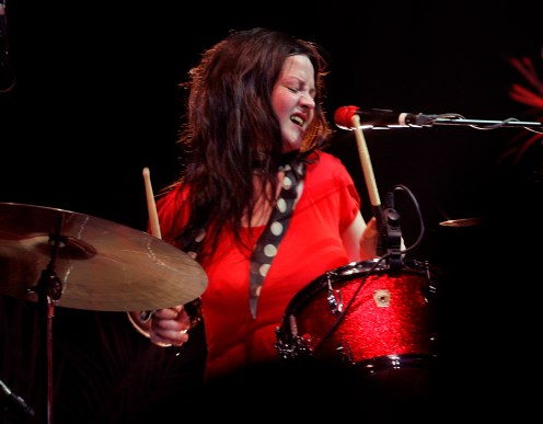 THE WHITE STRIPES - MEG WHITE