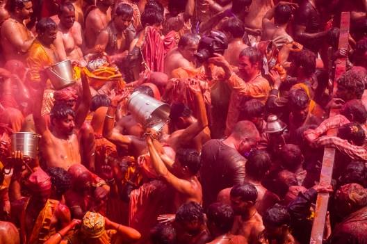 Shooting Holi festival, India