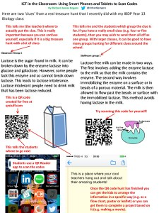 Instructions for using QR codes treasure hunts in your teaching practice.