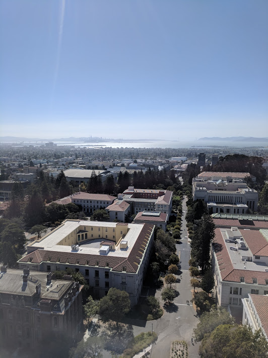 West View from Berkeley Campanile