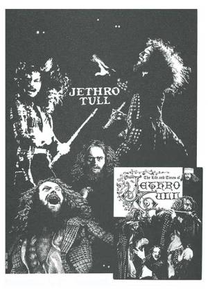 Jethro Tull Early Days Print 2 of 3