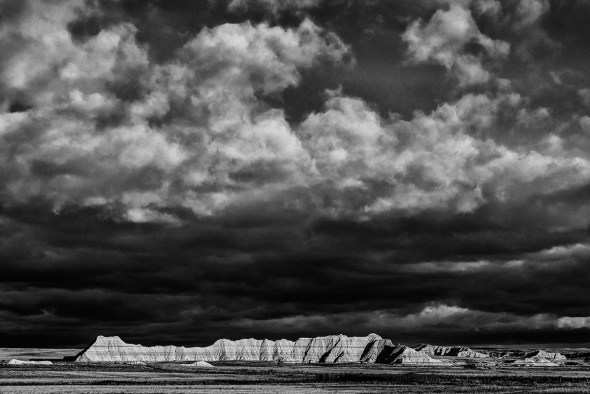 Badlands-National-Park-Interior,-SD-RKing-15-042588-BW-vv
